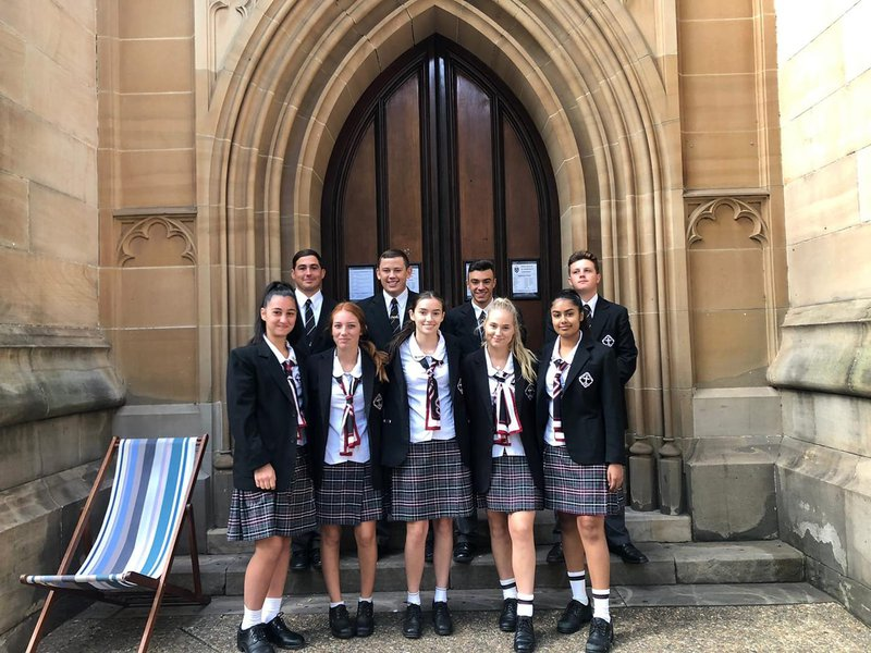 Year 12 Leaders attend the Archbishop's Commissioning Service