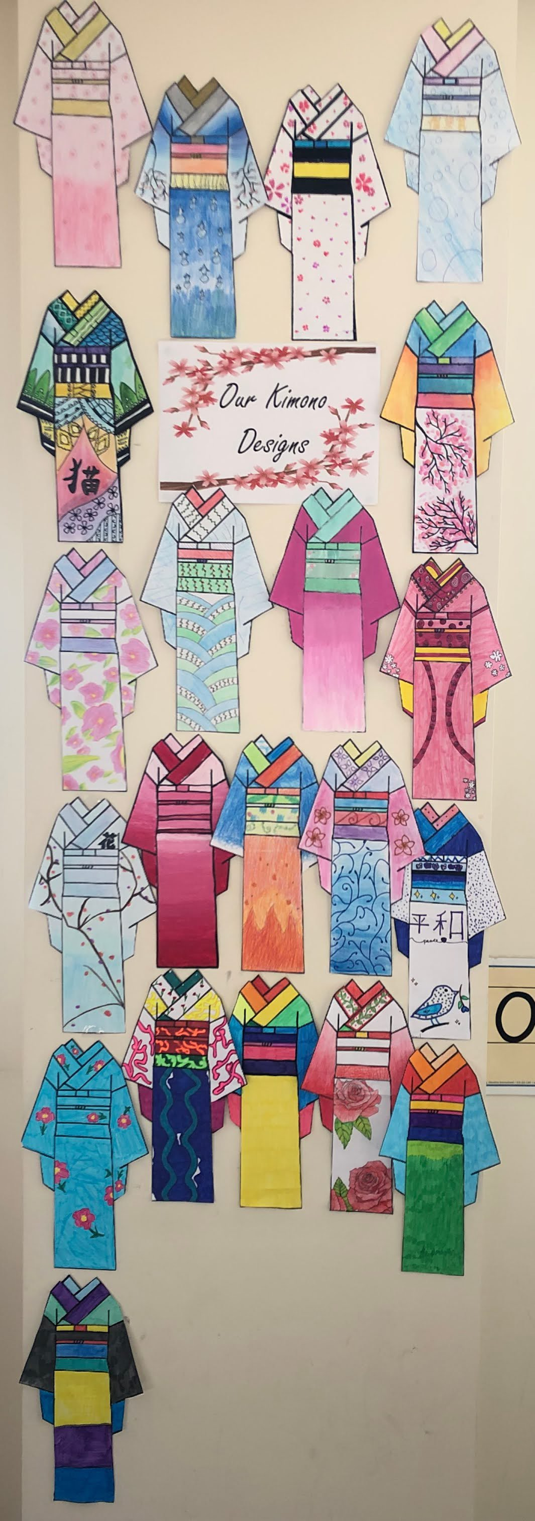 Year 6 Kimono Designs