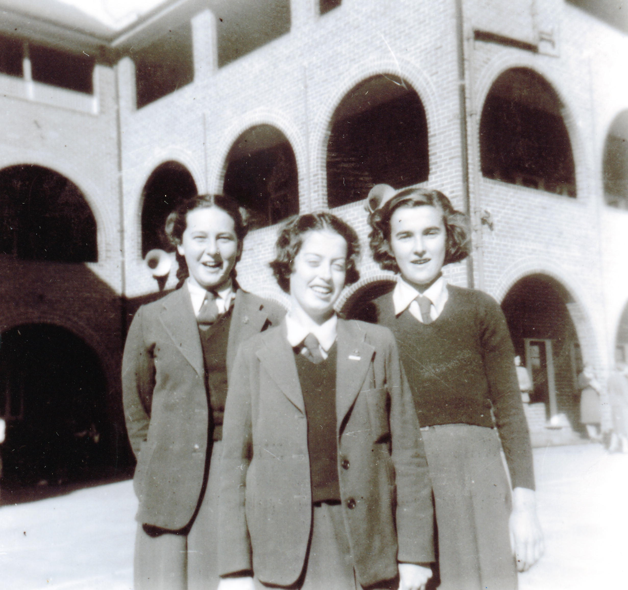 OLMC students in 1952