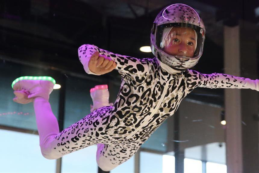 Amy Watson, Year 8 - Indoor Skydiving Champion
