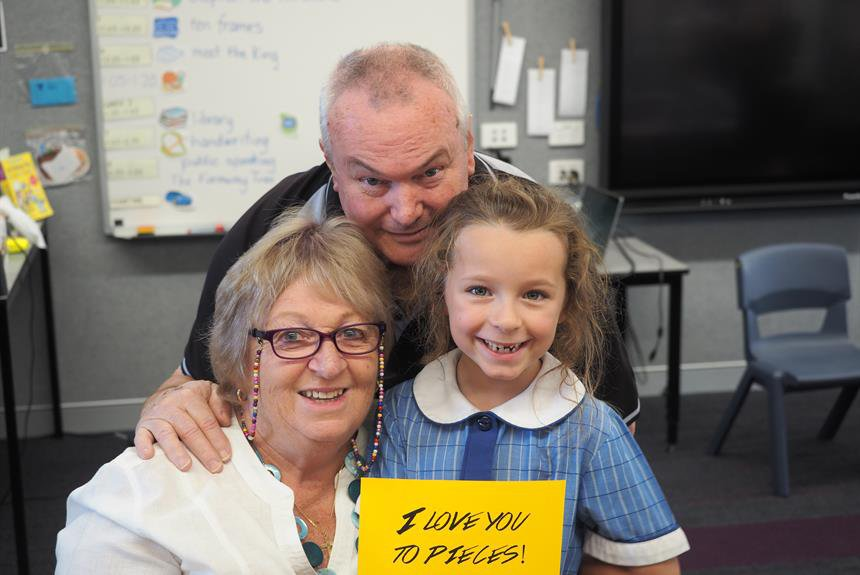Grandparents' Day at Marsden Park Campus