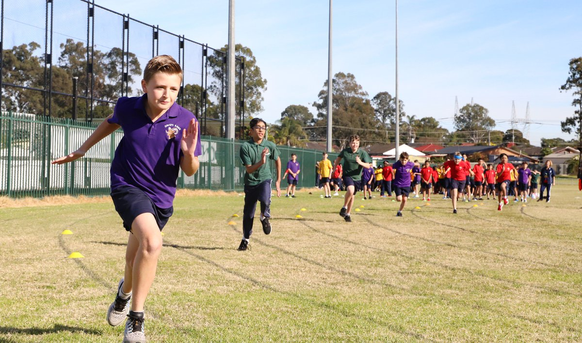 Years 3-6 Primary Athletics Carnival
