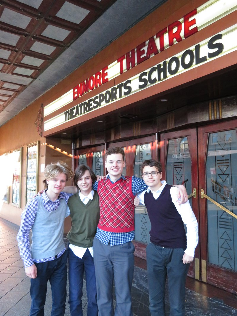 Congratulations Senior Theatresports Team
