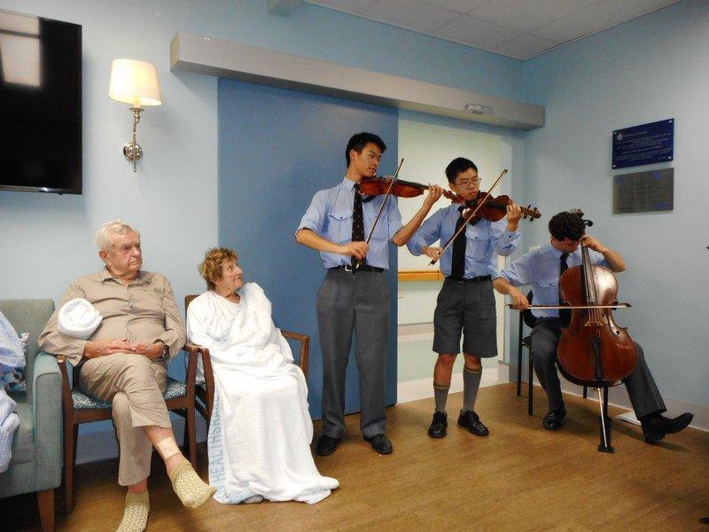 Making Music at St Vincent's Hospital
