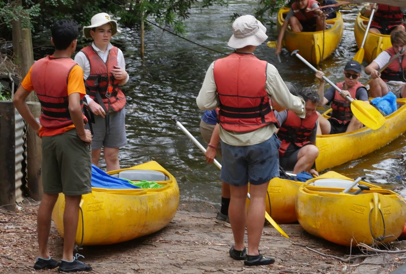 Duke of Edinburgh (Silver) Practice Hike on the Colo River
