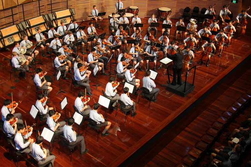 Term IV Concert, 2018 - School Orchestra