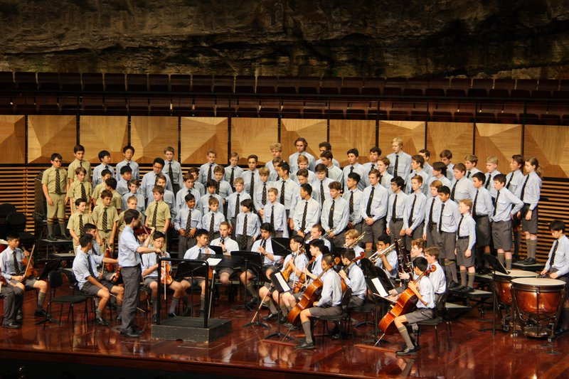 Term I Concert - School Choir and Orchestra
