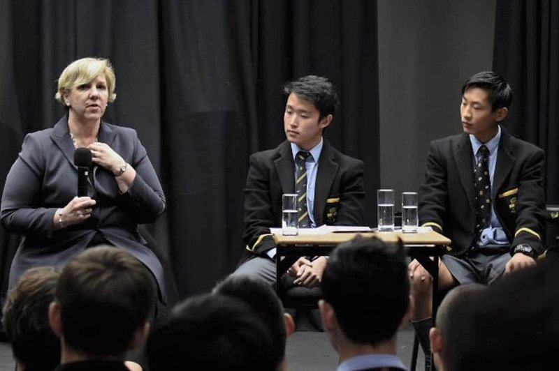 The Business Society Invites Robyn Denholm, Chairwoman of Tesla Inc.