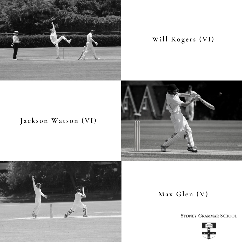 Three boys selected in the AAGPS First XI
