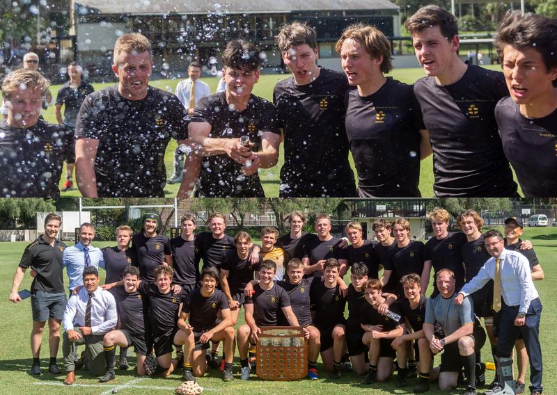First XV win AAGPS Premiership