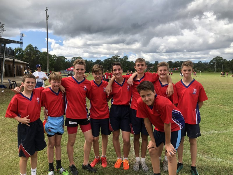 14 students chosen for representative touch football