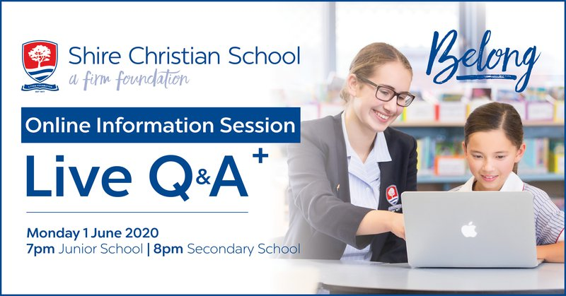 Online information session introduced as enrolments continue