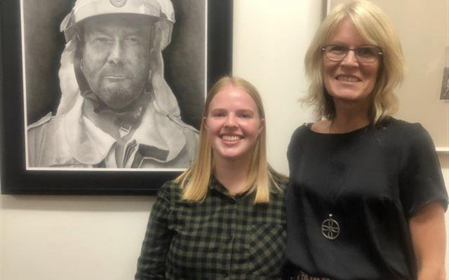 Drawing selected as finalist in prestigious exhibition