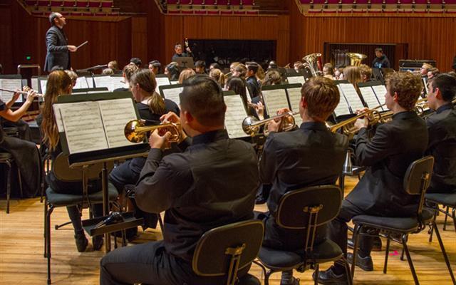 Students perform at Sydney Opera House