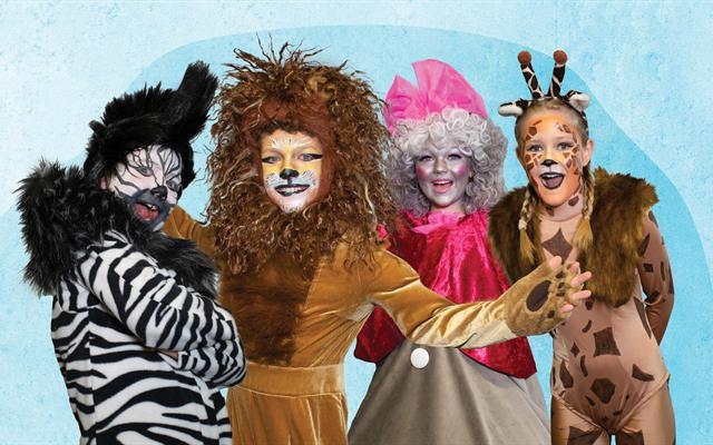 Madagascar - A musical adventure JR. tickets on sale