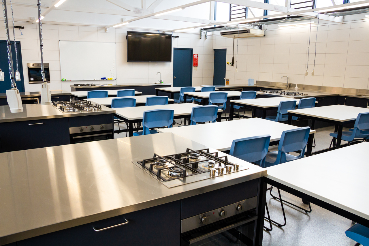 The Food Technology room was fully refurbished over the summer break.