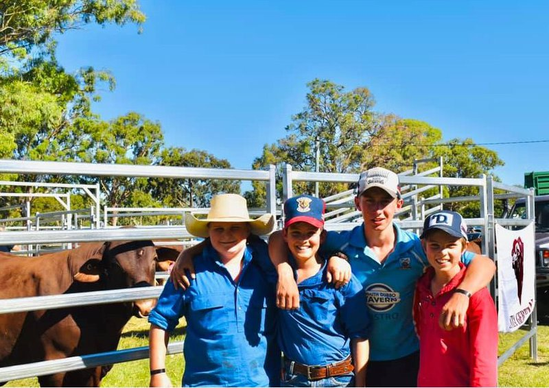 Win at Santa Gertrudis National Youth Camp