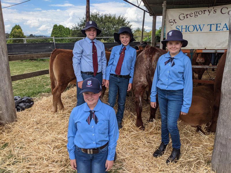 Junior School Team make history at 2021 Moss Vale Show