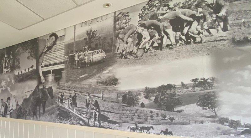New Mural installed in Dining Hall