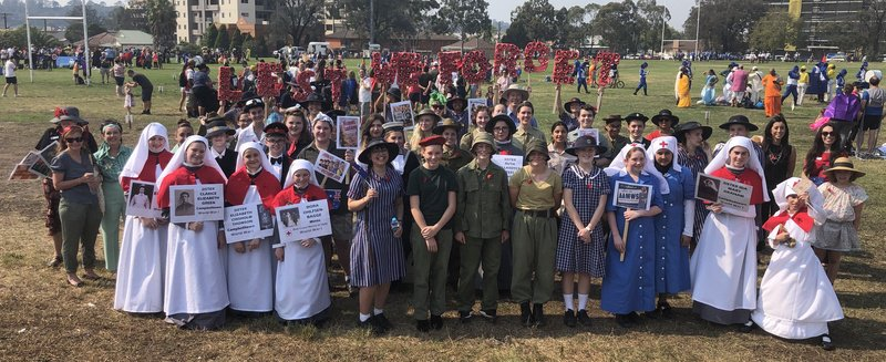 St Patrick's Honours Our War Nurses and Veterans at The Fisher's Ghost Parade