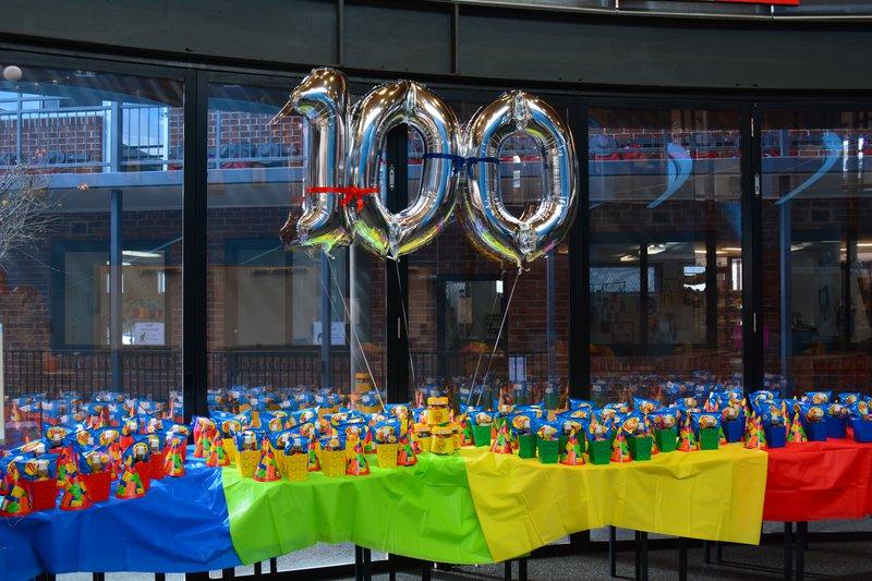 100 Days of Kindergarten!