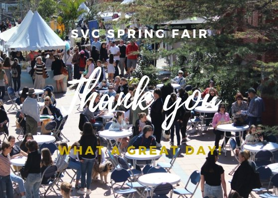 Spring Fair Thank You