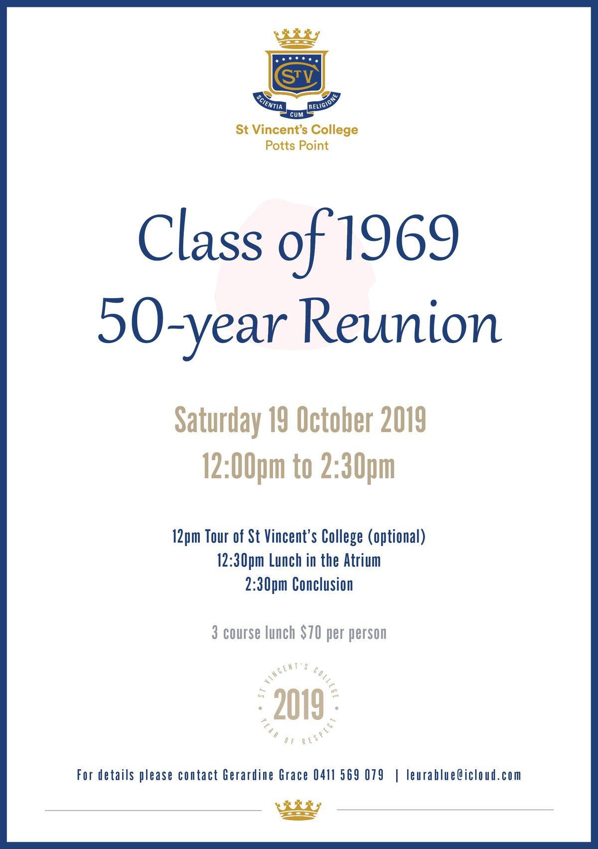 Class of 1969 50th Reunion
