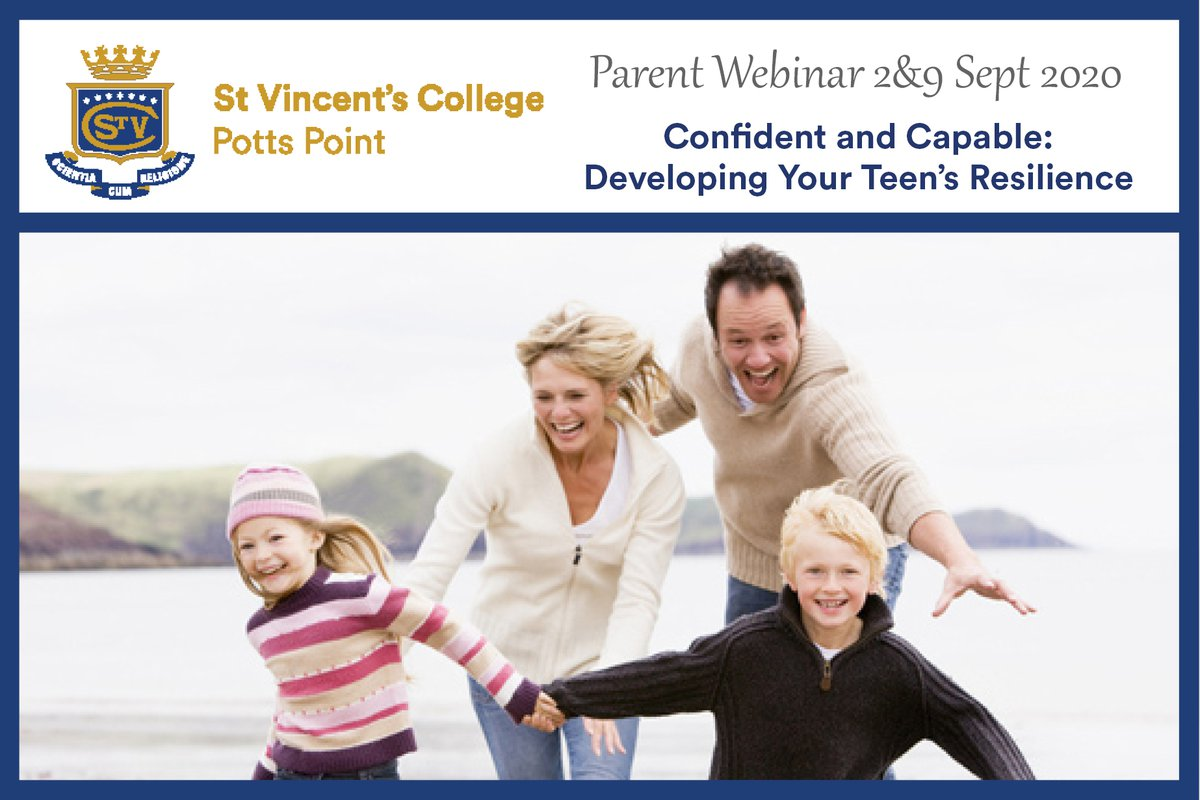 Confident and Capable: Developing Your Teen's Resilience Parent Webinar