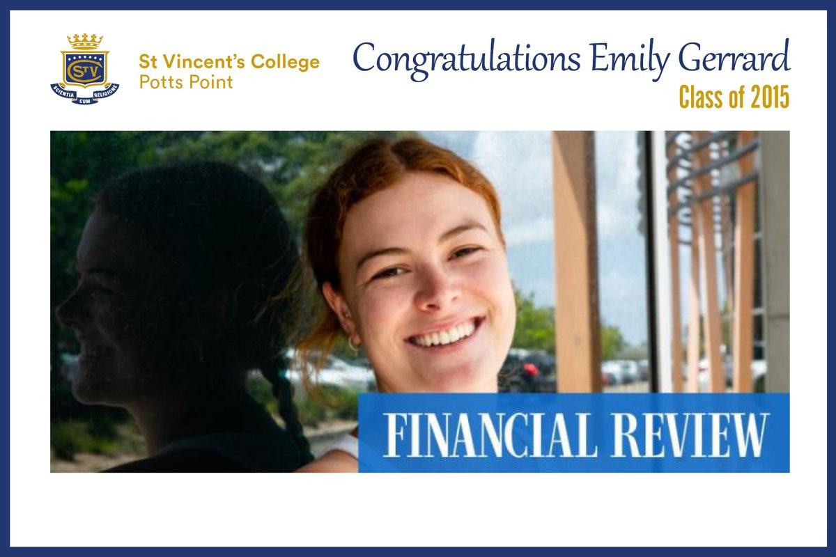 Congratulations Emily Gerrard