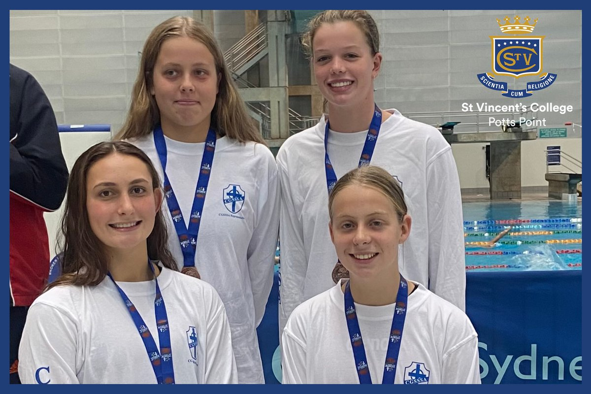 Vinnies Relay team place Third at CSNSW Swim Carnival!