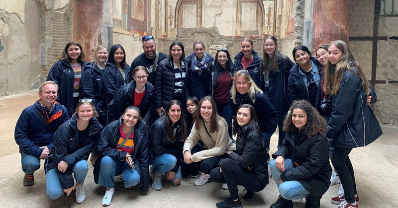 Ancient History Tour to Italy
