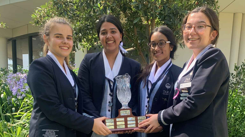 History Debating Grand Final Winners for the 2nd Year