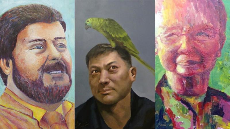 Year 10 Visual Arts - Portrait Painting