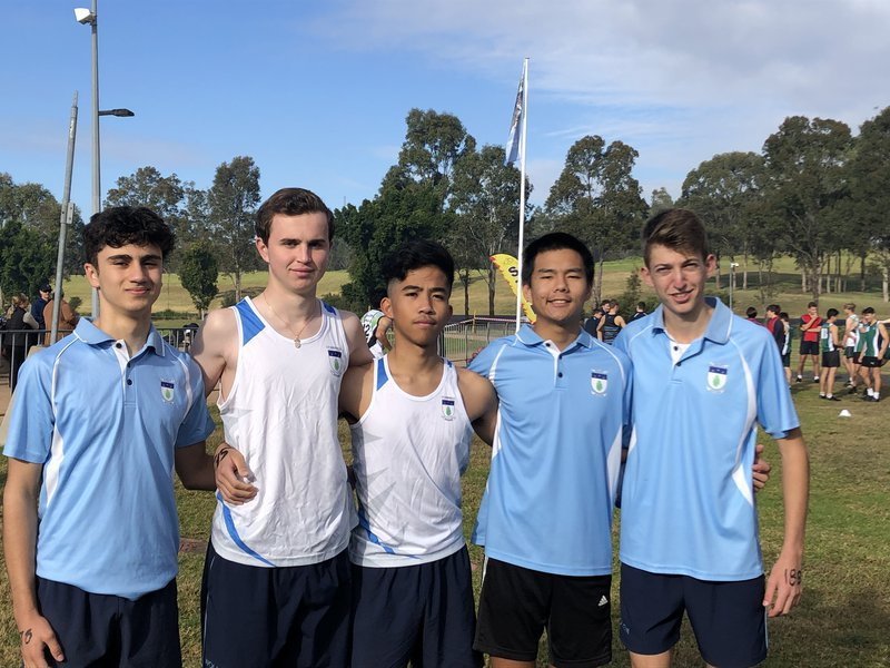 Hill Zone Cross Country 2021 Achievements